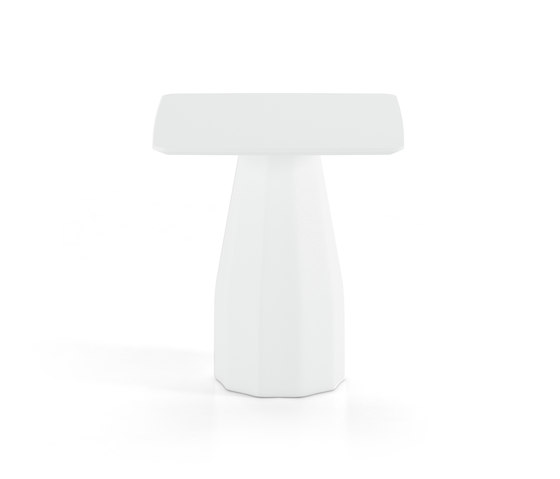Burin 70x70 de viccarbe | Tables de bistrot