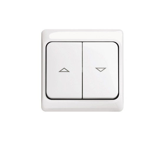 Blind switch/push-switch by Busch-Jaeger | Shuter / Blind controls