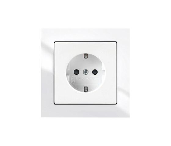 SCHUKO® socket outlet shuttered by Busch-Jaeger | Schuko sockets