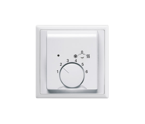 Room temperature controller for heating/cooling by Busch-Jaeger | Heating / Air-conditioning controls