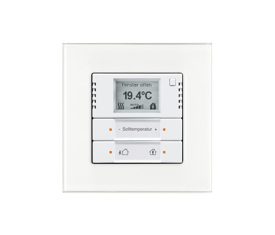 KNX room temperature controller with touch sensor by Busch-Jaeger   KNX-Systems