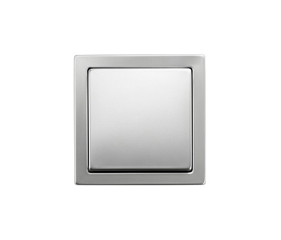 Pure Stainless Steel by Busch-Jaeger | Two-way switches