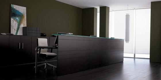 Layer Operative Desking System de Guialmi | Comptoirs