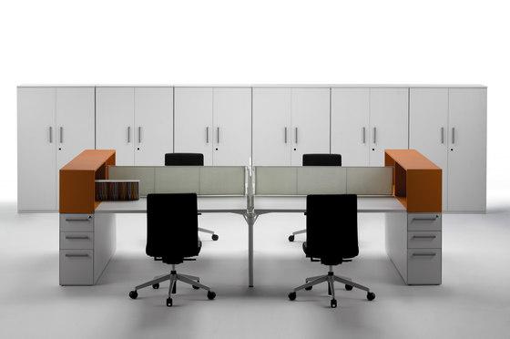 Layer Operative Desking System de Guialmi | Mesas contract