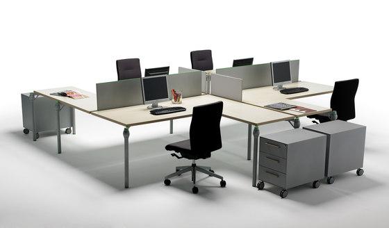 Layer Operative Desking System di Guialmi | Tavoli contract