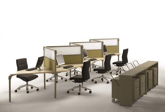 Layer Operative Desking System di Guialmi | Scrivanie
