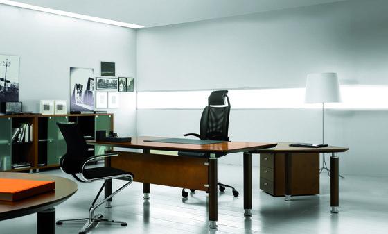 Oceanus Executive Desk by Guialmi | Desks