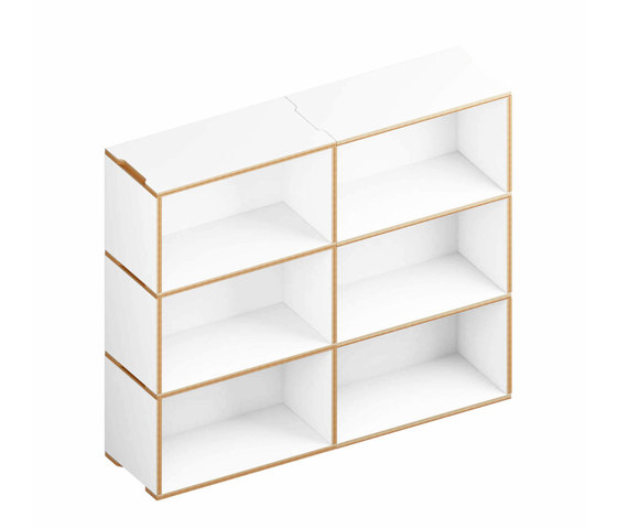 Benji Bookcase 6 2.3 de Morfus | Estantería