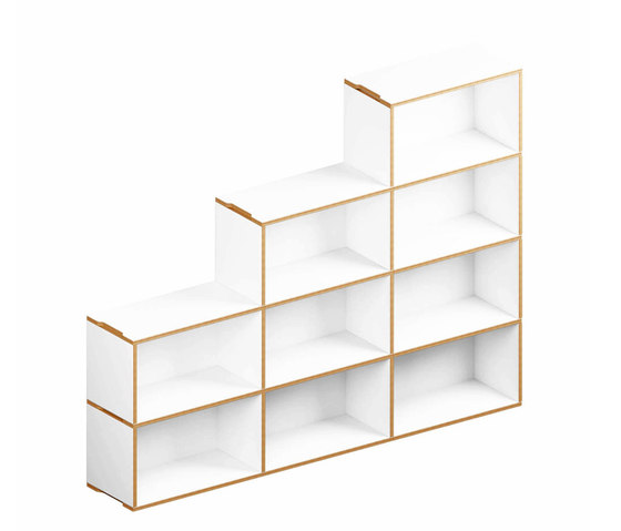 Benji Bookcase 6 stepped de Morfus | Estantería