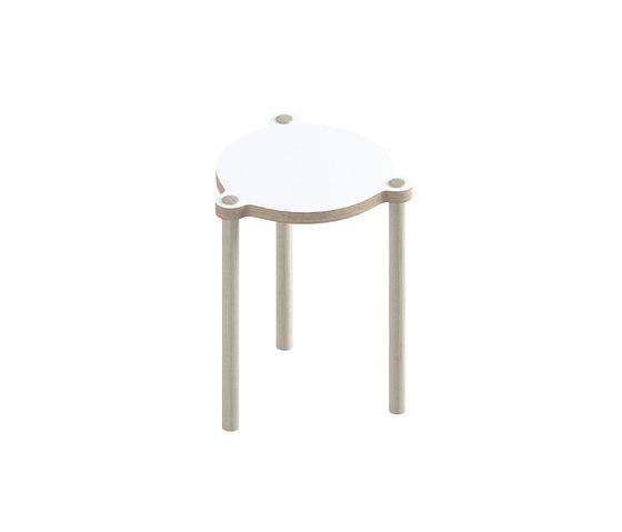 Peggi Stacking Stool/Table small de Morfus | Mesas auxiliares