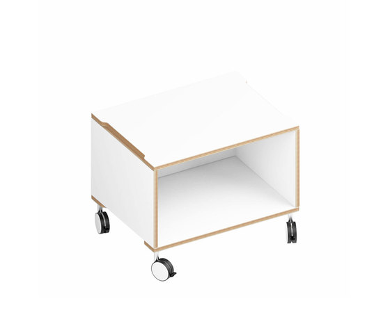 Sylvi Sideboard 6 1.1 wheels by Morfus | Shelving