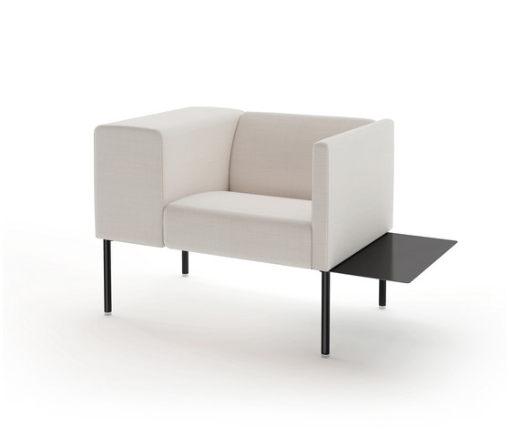 Brix with sidetable de viccarbe | Sillones