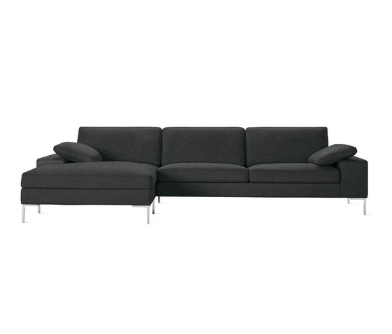 Arena Sectional with Chaise by Design Within Reach | Sofas