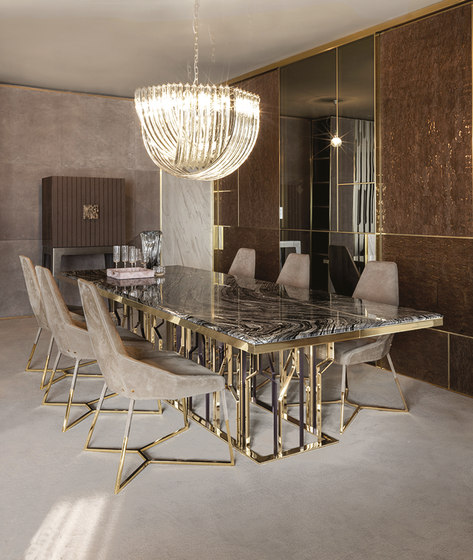 Ginza Table by Longhi S.p.a. | Dining tables
