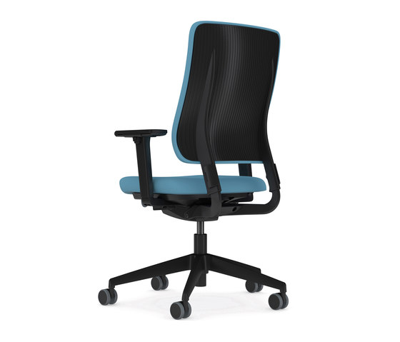 Drumback - Task Chair Iron Black by Viasit | Office chairs