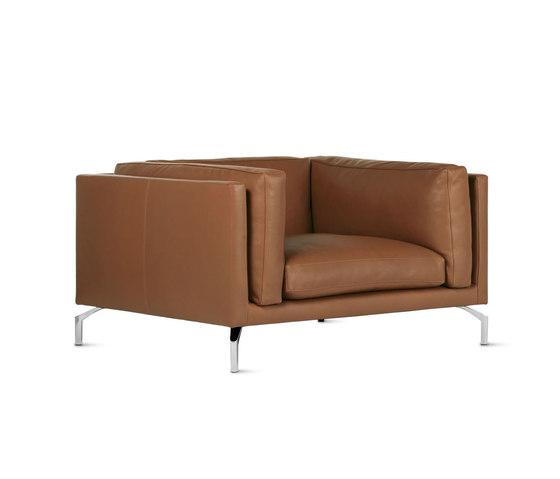 Como Armchair in Leather von Design Within Reach | Sessel