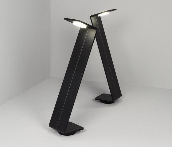 Bent zzz black di Dexter | Lampade outdoor su pavimento
