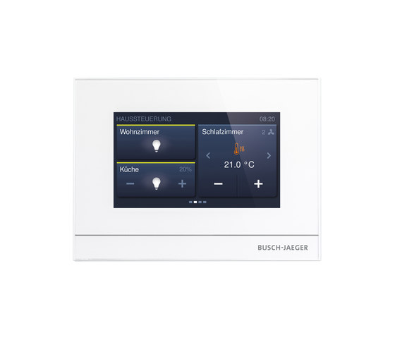 "ABB-free@homeTouch 4.3"" by Busch-Jaeger 