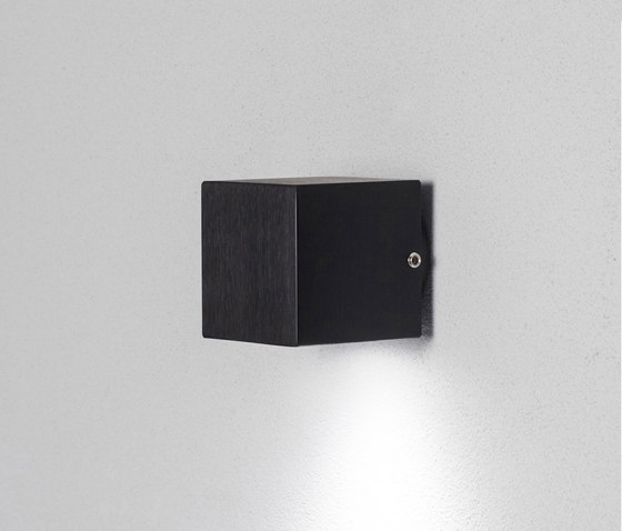Cube black by Dexter | Outdoor wall lights