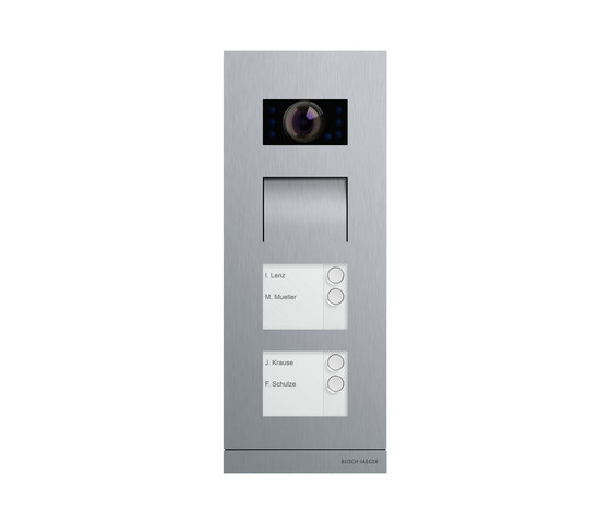ABB-Welcome outdoor video station by Busch-Jaeger | Intercoms (exterior)