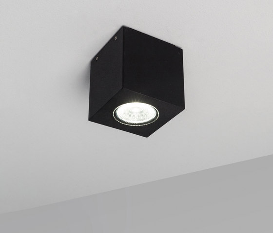 Cube XL ceiling black by Dexter | Outdoor ceiling lights