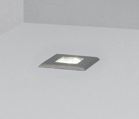Evo square 25° di Dexter | Lampade outdoor incasso parete