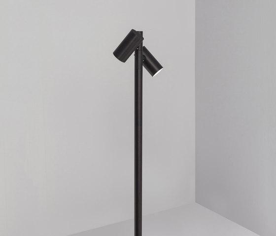 Eye focus black by Dexter | Outdoor floor-mounted lights