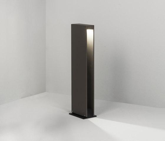 Ray 45 grey di Dexter | Lampade outdoor su pavimento