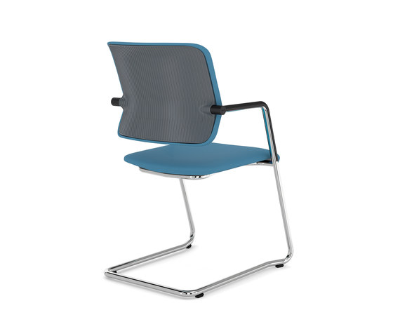 Drumback - Cantilever Chair by Viasit | Chairs