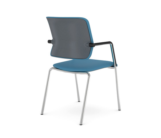 Drumback - Four legs by Viasit | Chairs