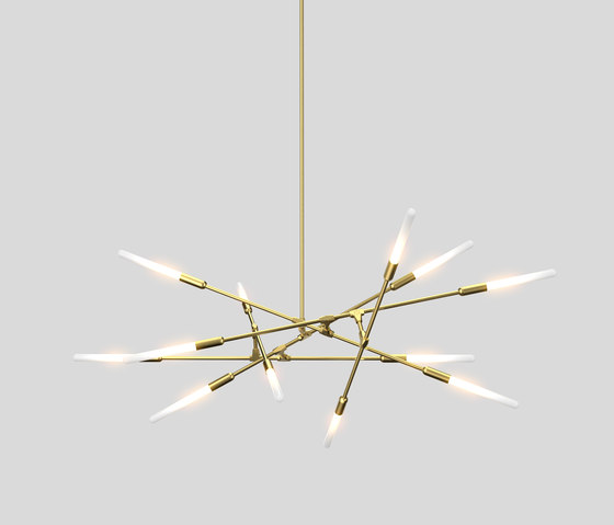 Dawn 12h by Matthew McCormick Studio | Suspended lights