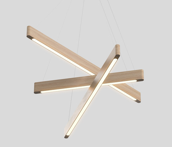 Line Light 604060 x by Matthew McCormick Studio | Suspended lights