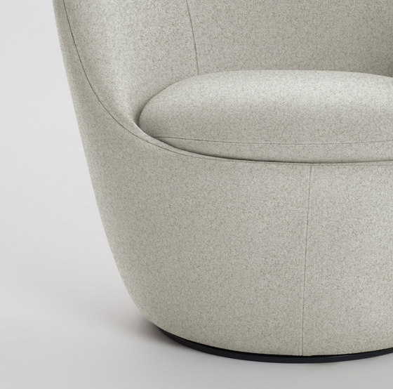 Lína Swivel Chair by Design Within Reach | Armchairs