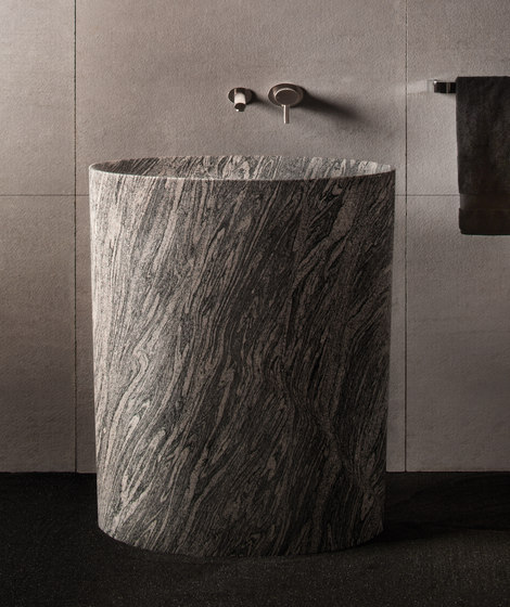 Infinity Pedestal by Stone Forest | Wash basins