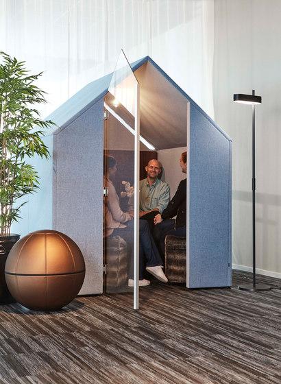The Hut Mit Frontblenden Und Tür von Götessons | Office Pods
