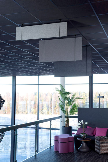 Effekt EcoSUND Pendent by Götessons | Sound absorbing ceiling systems