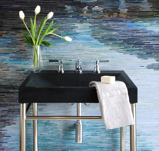 SYNC Console by Stone Forest | Wash basins