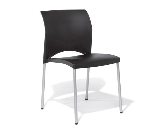 Linea Visitor Chair by Viasit | Chairs