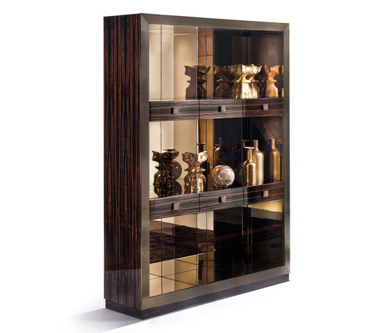 Emily by Longhi S.p.a.   Display cabinets