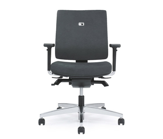 Linea Task Chair upholstered backrest de Viasit | Sillas de oficina