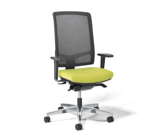 Linea Task Chair mesh back by Viasit | Office chairs