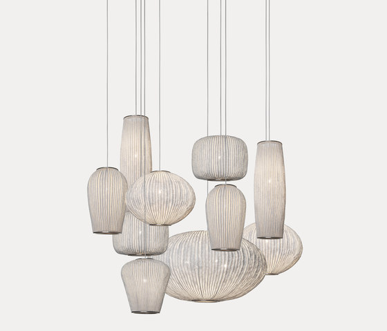 Coral composition CO04-10 by arturo alvarez | Suspended lights
