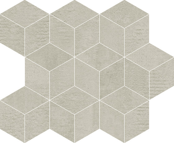 Frame Cube Beige by KERABEN | Ceramic tiles