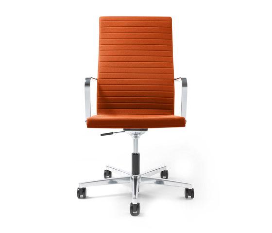 Pure Swivel chair High Backrest de Viasit   Sillas de oficina