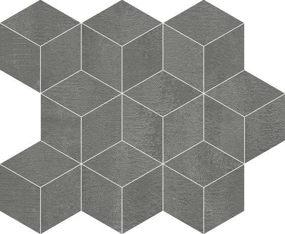 Frame Cube Grafito by KERABEN | Ceramic tiles