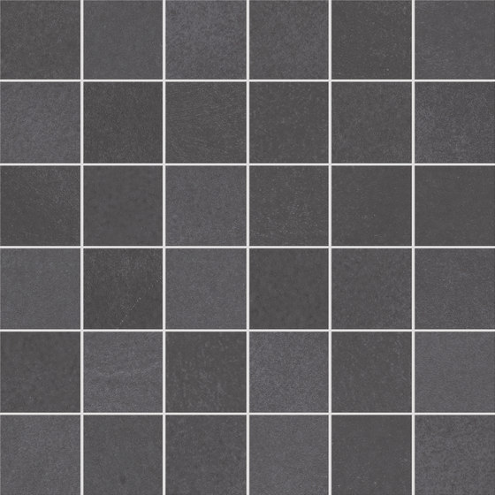 Evolution Mosaico Negro de KERABEN | Mosaïques céramique