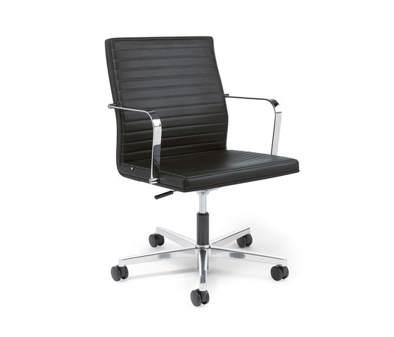 Pure Swivel chair Low Backrest de Viasit | Sillas de oficina