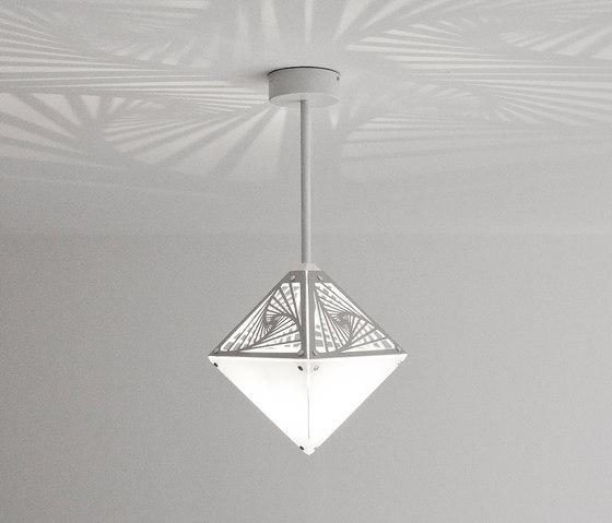 Okta Vitrum by Sacrea   Suspended lights
