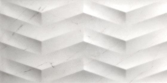 Evoque Concept Blanco Mate / Brillo de KERABEN | Baldosas de cerámica