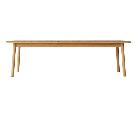 Tanso | Rectangular Table Large di Case Furniture | Tavoli pranzo